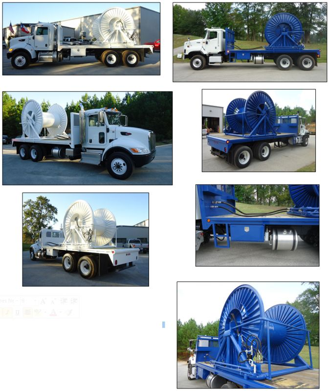 ABL Services, Inc. -ABL Truck Cable Spooler & Bed